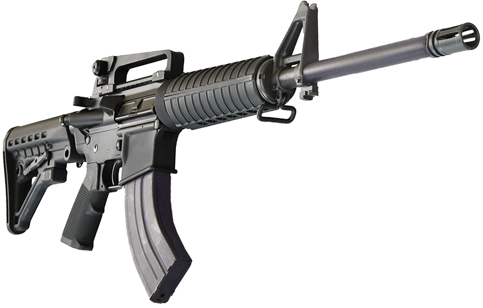 Bear Creek Arsenal AR-15 Rifle 7.62x39 Caliber w/ Carry ...