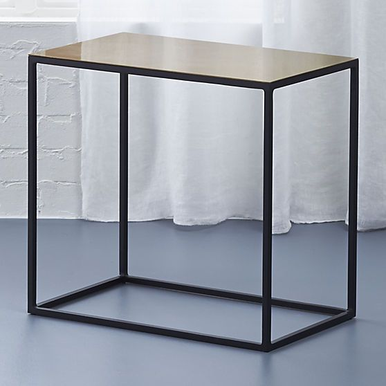 nolita side table cb2 modern side table coffee table on exclusive modern nesting end tables design ideas very functional furnishings id=39024