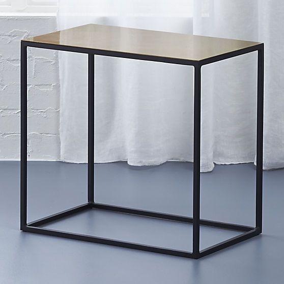 Nolita Side Table CB NEW OFFICE FURNITURE Pinterest Condo - Cb2 accent table