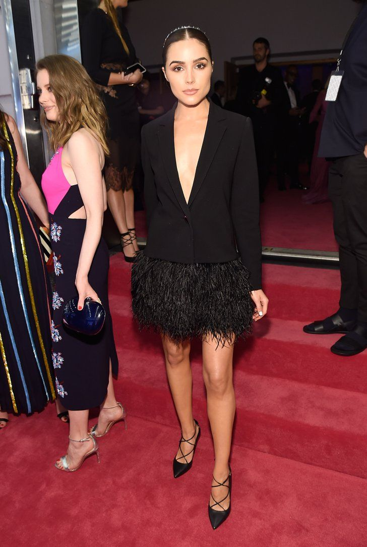 Pin for Later: Seht all' den Glamour auf dem roten Teppich der CFDA Awards Olivia Culpo in Kate Spade New York