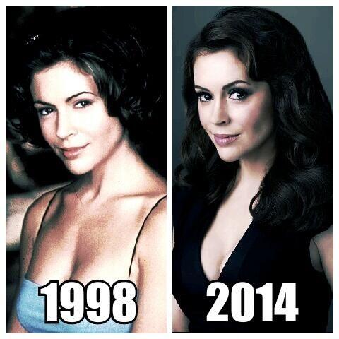 Alyssa Milano: Then and Now