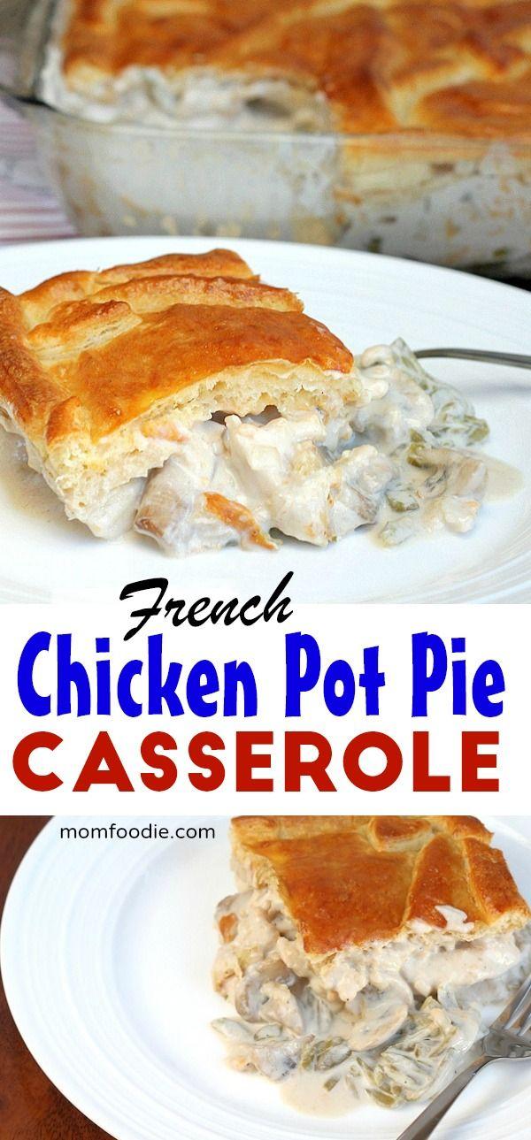 French chicken pot pie casserole casserole chickendinner potpie french chicken pot pie casserole casserole chickendinner potpie chickenrecipes forumfinder Gallery