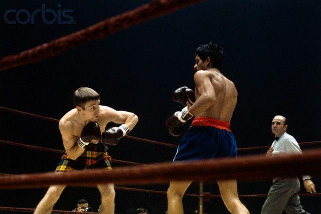 Ken Buchanan v Roberto Duran at Madison Square Gardens 1972 (With ...