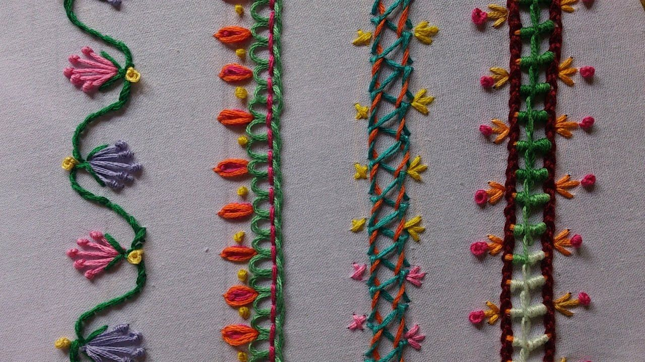 Hand embroidery stitches tutorial for beginners facebook