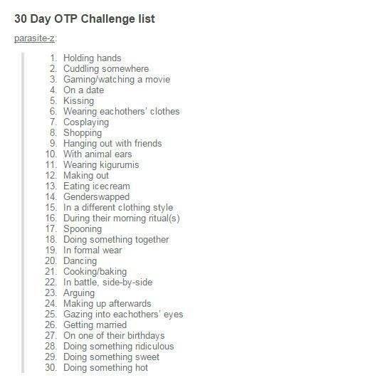 30 day otp challenge list