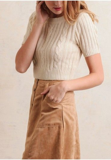 Effie Cropped Sweater