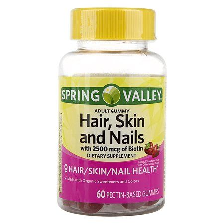 Health In 2019 Vitamins For Skin Spring Valley Hair Skin