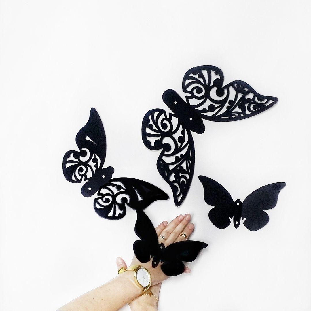 🔆Уникальные 3D-декоры для стен Бабочки — простой способ ...  Простой Интерьер Рисунок