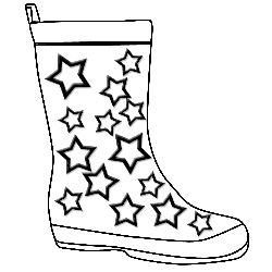 Gumboots printables pinterest outlines template and paper cards a wellington boot stencil outline for colouring in maxwellsz