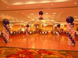 Another idea to go with balloons and the homecoming dance decorations (Michelle)