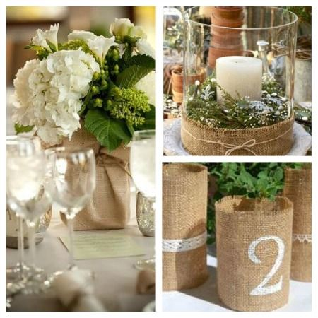 You Can Turn Any Old Vase Or Container Into Something Gorgeously Rustic And Chic Cheap Party IdeasWedding