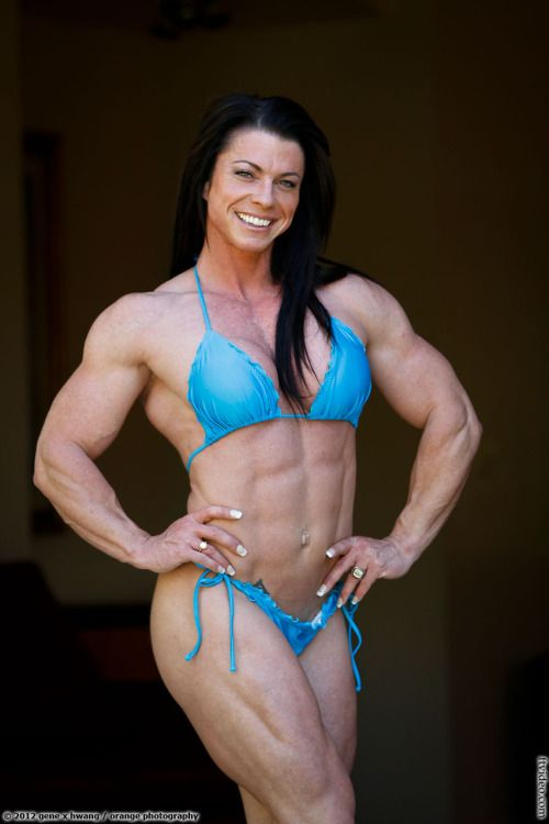 Hot Muscular Chicks