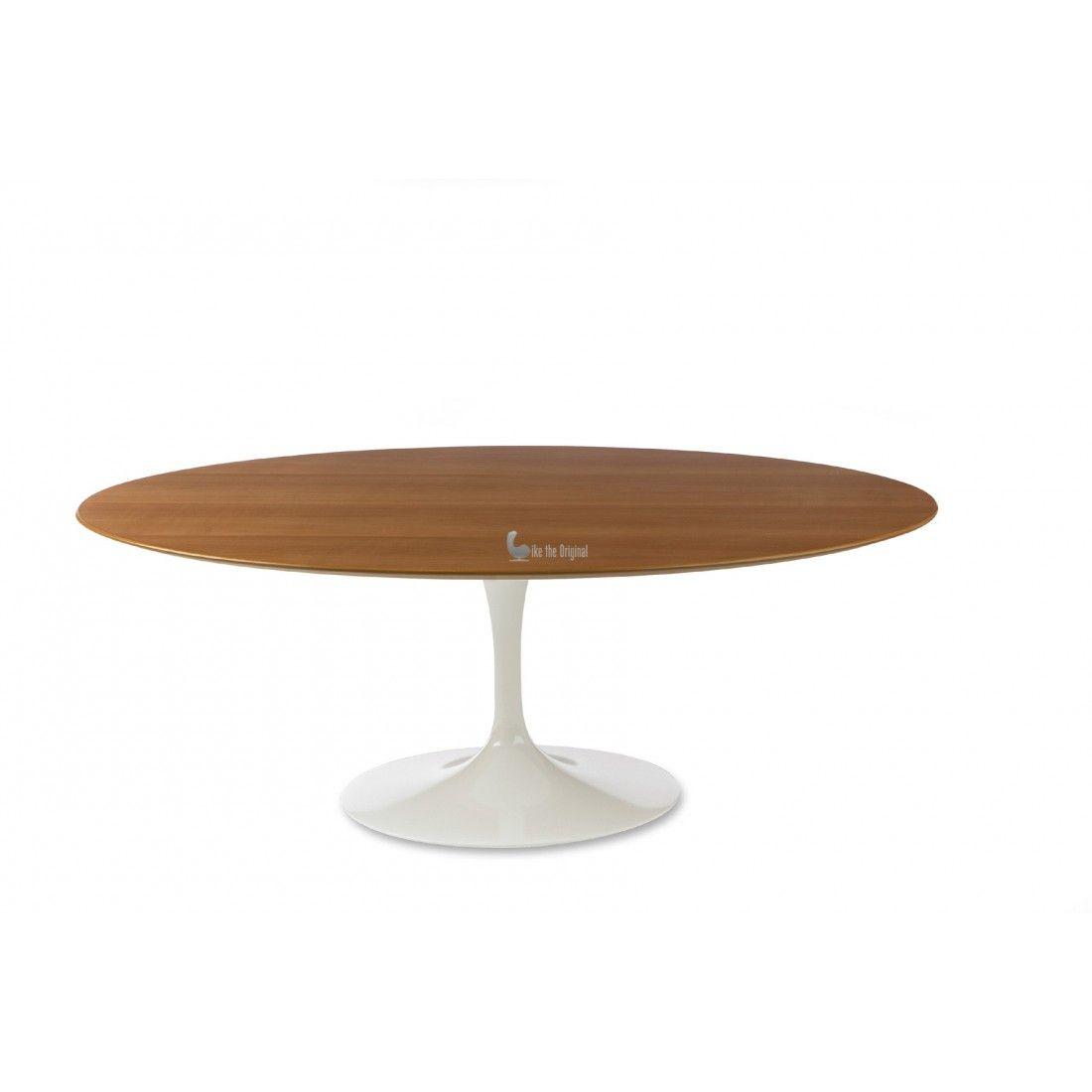 Eero Saarinen U2013 Tulip U2013 Oval Dining Table U2013 Wood. Reproduction, More  Choices Of