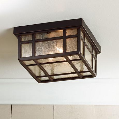 J Du J Sierra Craftsman 10 1 2 Wide Ceiling Light 65087 Lamps Plus In 2021 Ceiling Lights Porch Light Fixtures Outdoor Ceiling Lights Exterior ceiling light fixture