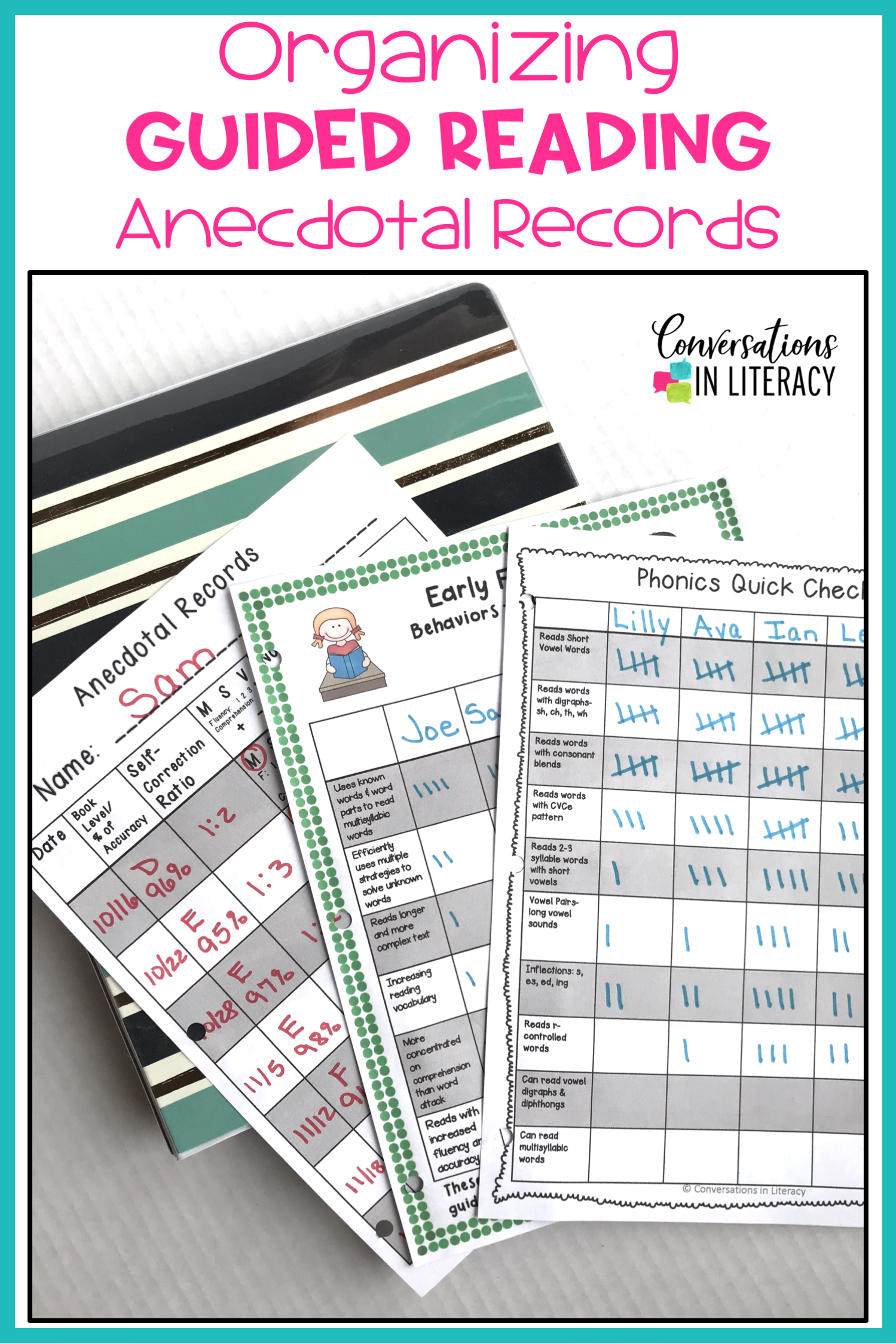 Tips For Getting Your Anecdotal Records Amp Guided Reading