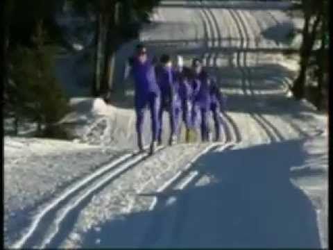 Ski de Fond. Col des Mosses.