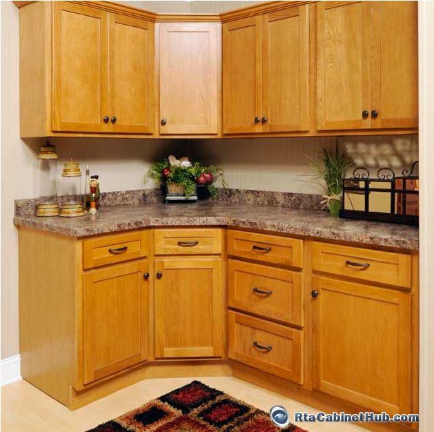 Cheap Unfinished Wood Kitchen Cabinets: All Wood Cabinets Oak Shaker