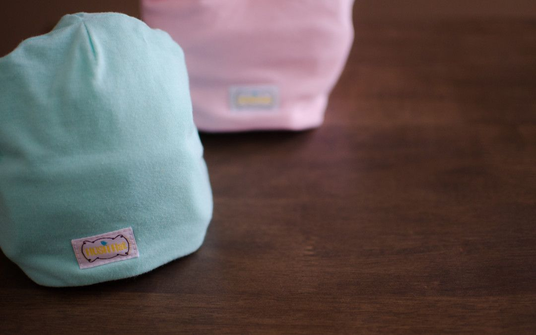 744bf5be7 HUSH Baby Blog: Introducing the HUSH Hat ~ Sound absorbing infant ...