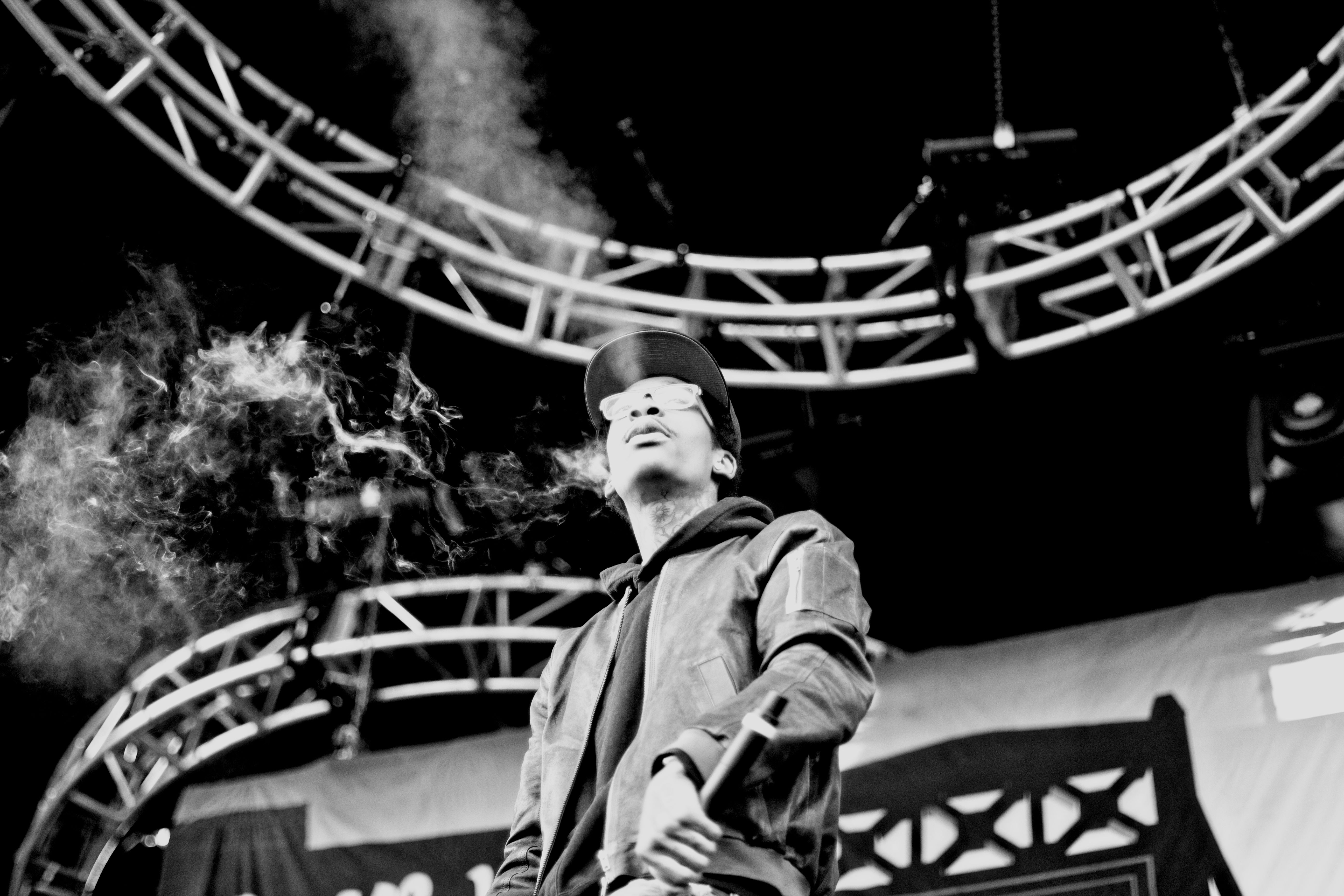 wiz khalifa at the 2011 summercamp music festival. taken by yours truly.