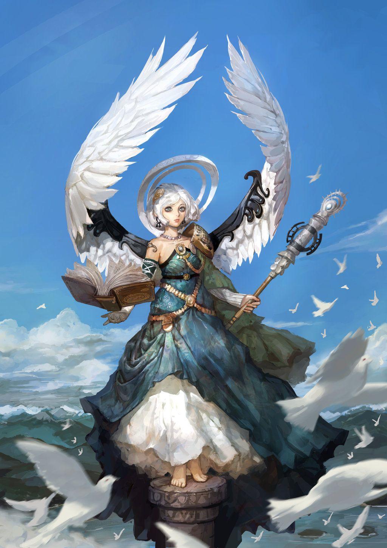 Sky of angel by inshoo1 on deviantART