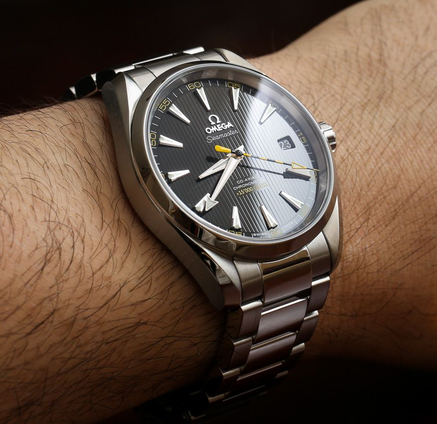 Omega Seamaster Aqua Terra 15 000 Gauss Watch Review Wrist