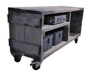 Tv Kast Nl : ≥ stoere industriële tv kast van oud hout kasten tv meubels