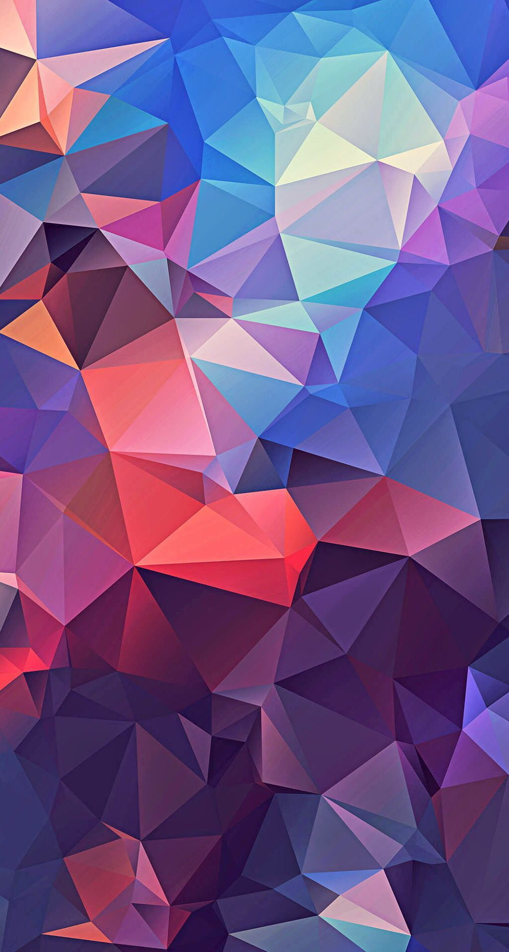 Pattern Purple Triangle Graphic Design Design Colorfulness In 2020 With Images Polygon Art Colorful Wallpaper