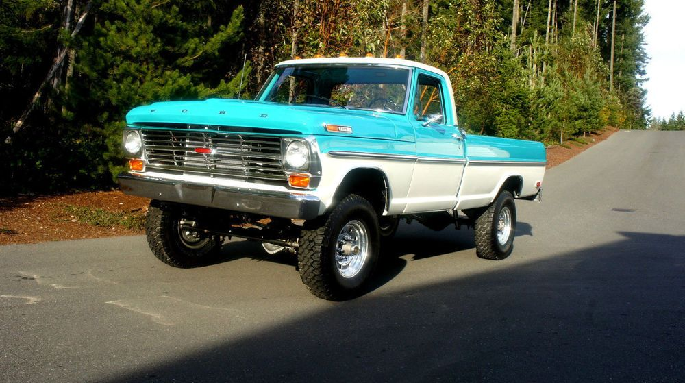 Ford F 250 Highboy F100 Trucks Ford 4x4 Old Ford Trucks