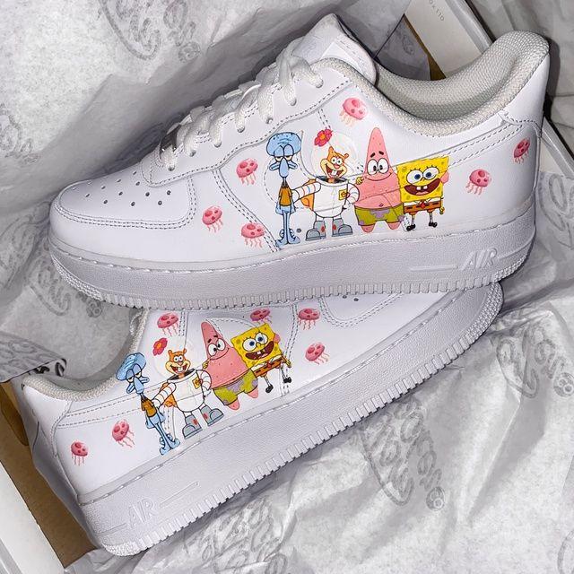 Spongebob Air Force 1's