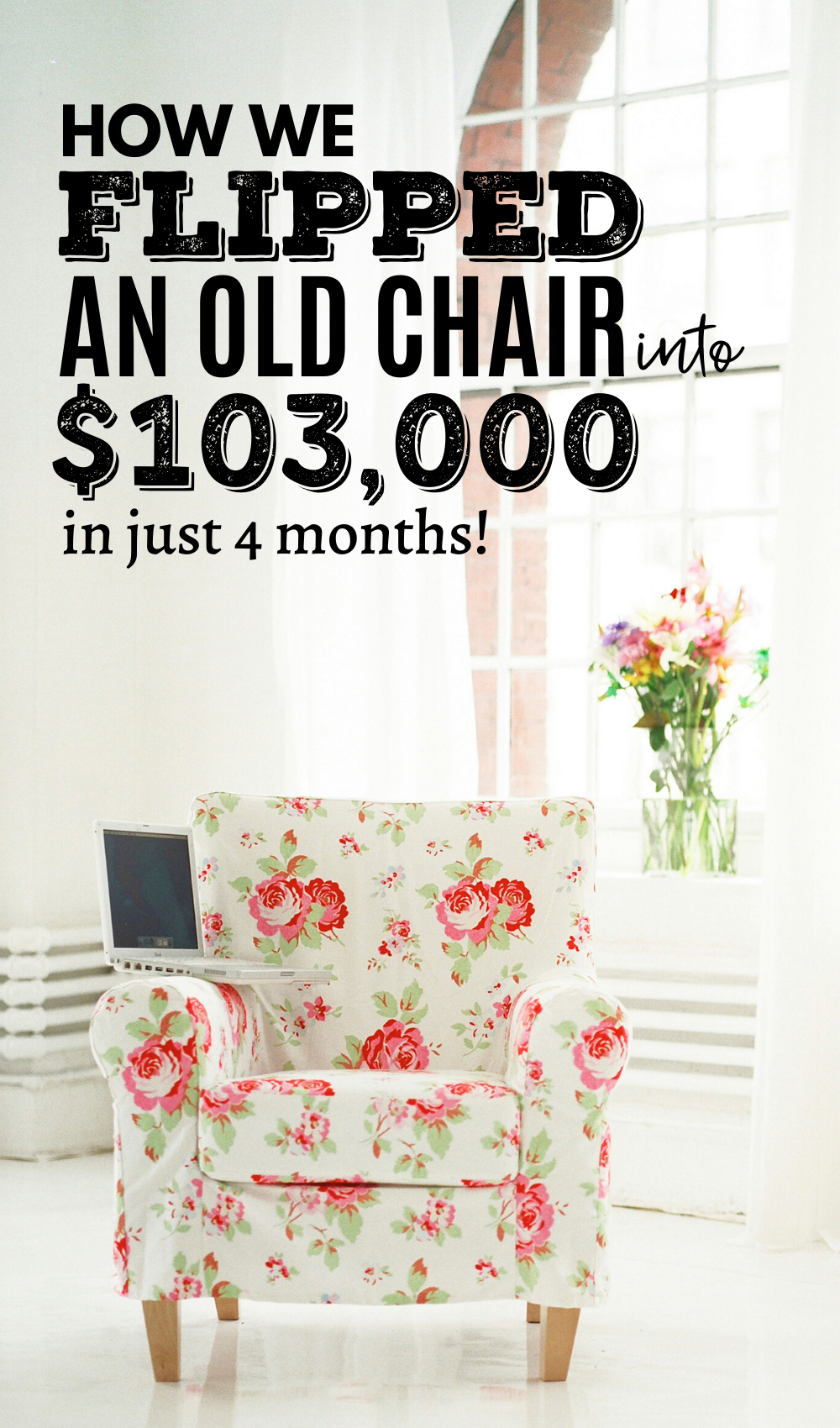 How We Flipped A Chair From The Trash Into 103 400 In Ebay Inventory In Just 4 Months Ebay Selling Tips Flea Market Flip Flipping Furniture