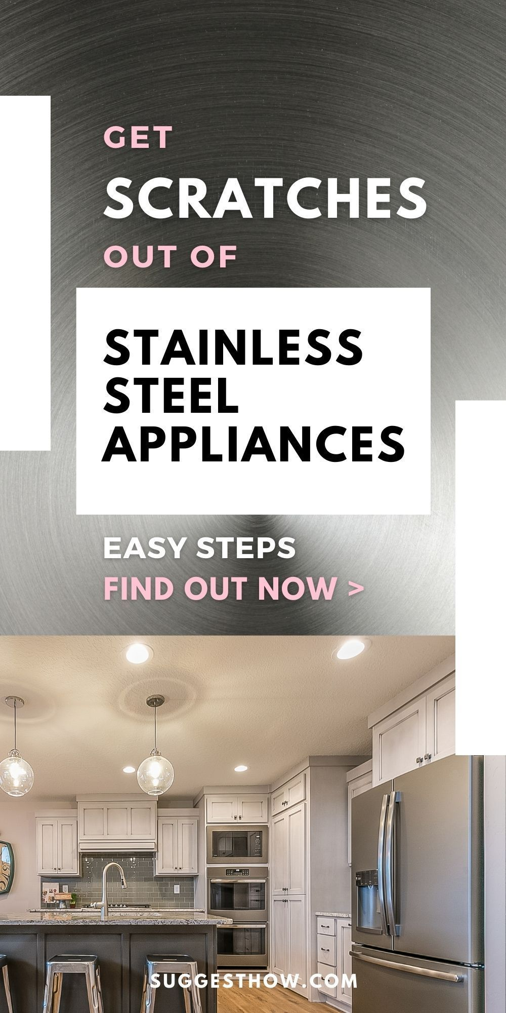 How To Get Scratches Out Of Coated Stainless Steel Appliances In 2021 Home Hacks Diy Cleaning Products Cleaning Appliances
