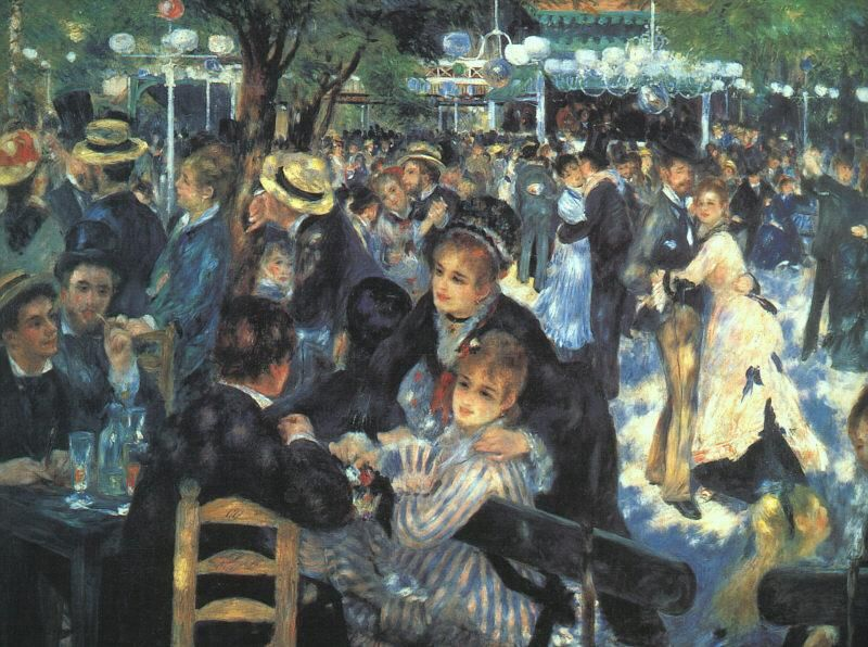 Pierre Auguste Renoir Moulin De La Galette Renoir Artysta