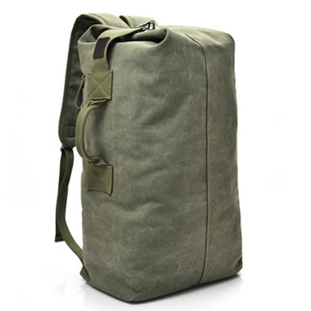 Multifunctional Military Tactical Canvas Kit Bag Army Duffle Trave Miltact
