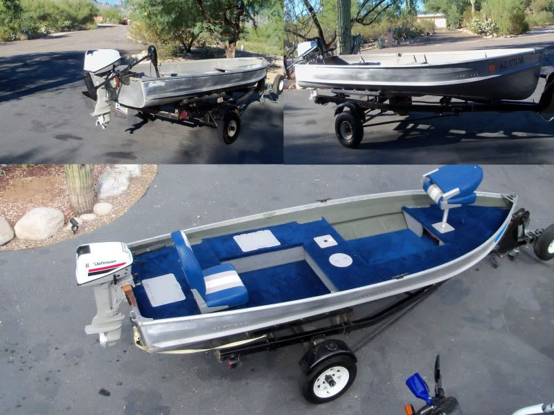 Image result for 12 foot aluminum boat conversion | Aluminum fishing boats,  Small fishing boats, Boat