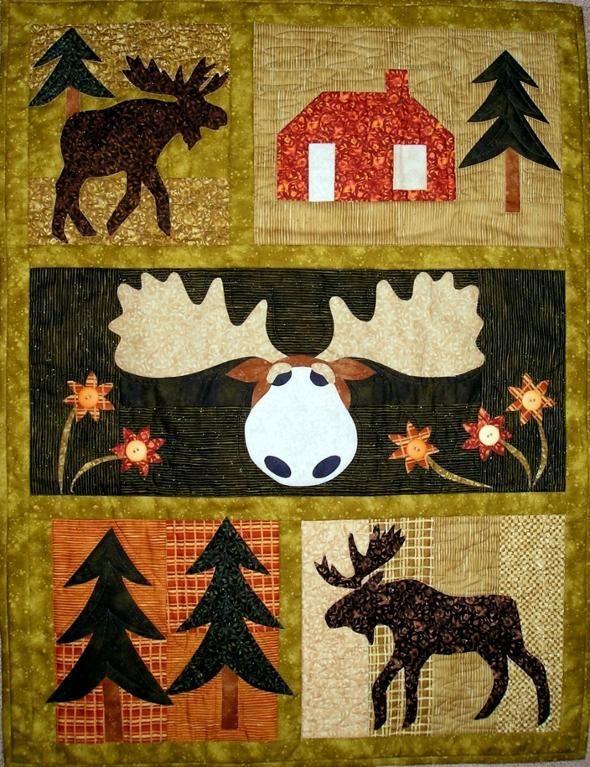 Moose Crossing ... by pgpeddler2634293 | Quilting Pattern ... : moose quilt - Adamdwight.com