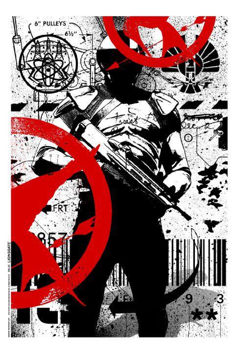 New Mockingjay part 1 poster