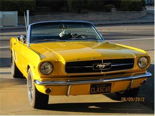 1965 Ford Mustang. I would appreciate it if someone could get me this for Christmas. :) Please?