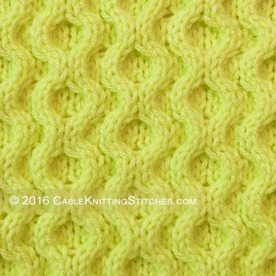 Cable Knitting Stitches Honeycomb Xoxo Very Easy I Really Like