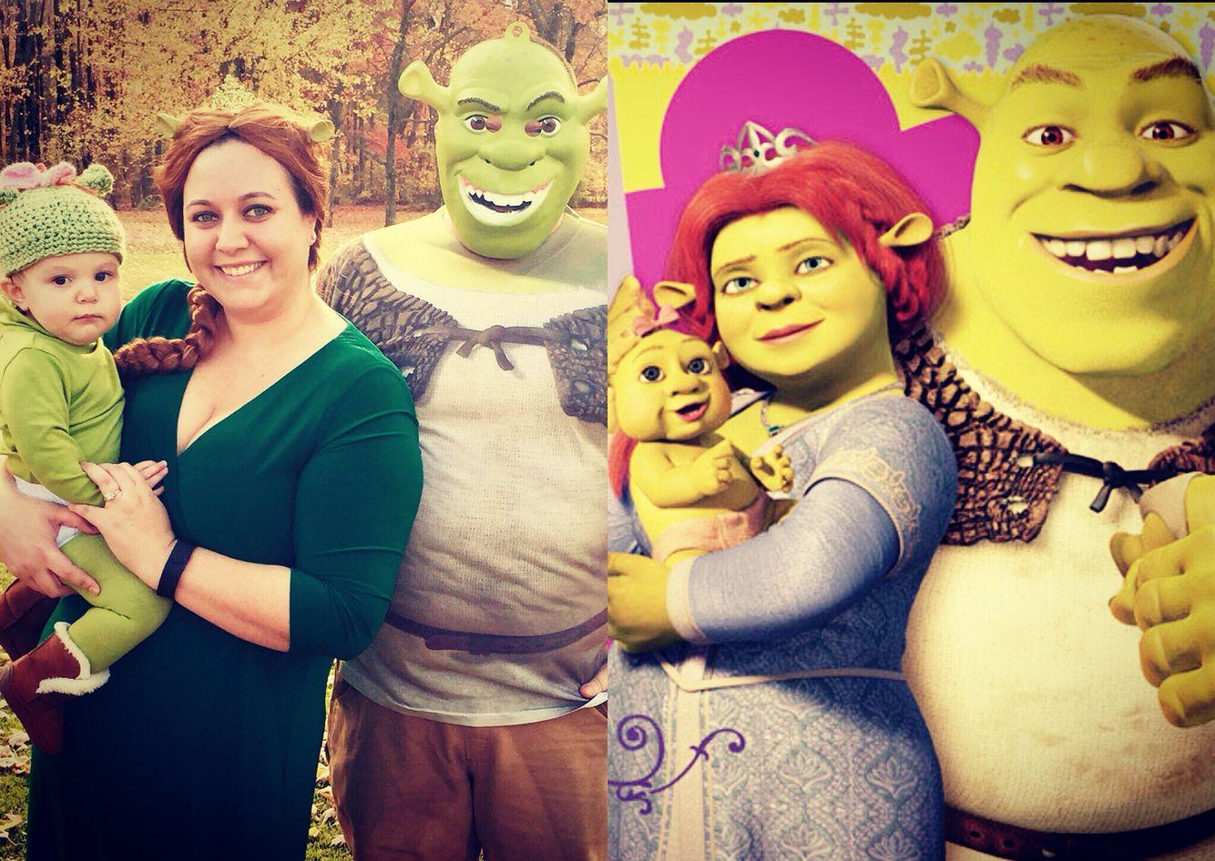 Familycostume Halloween Shrek Family Halloween Costume Shrek Halloween Costume Family Costumes Family Halloween Costumes
