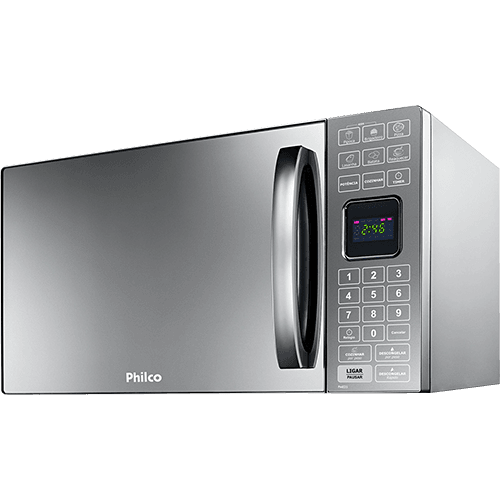 c6b2f5492 Micro-ondas Philco PME25 25 Litros com Tecla Preparo Rápido Prata ...