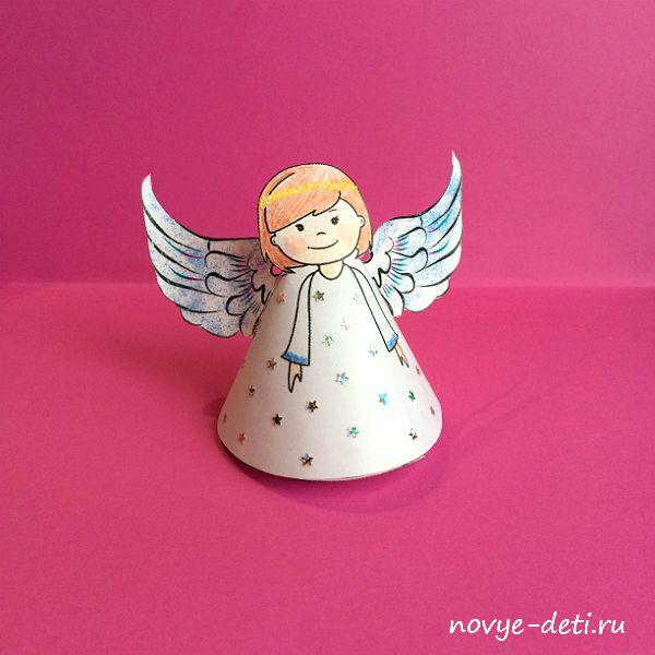 ангелочек картинка для поделки прокачать