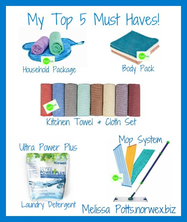 Norwex Cleaning Products: Norwex Top 5 Best Sellers And Must Haves! Www.melissapotts