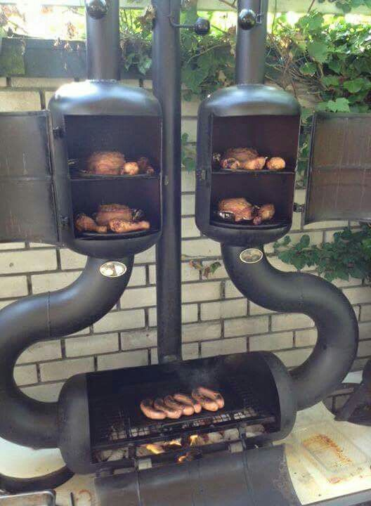 Backyard Smoker Grill Part - 49: Discover Thousands Of Images About Awesome Grill/smoker Combo