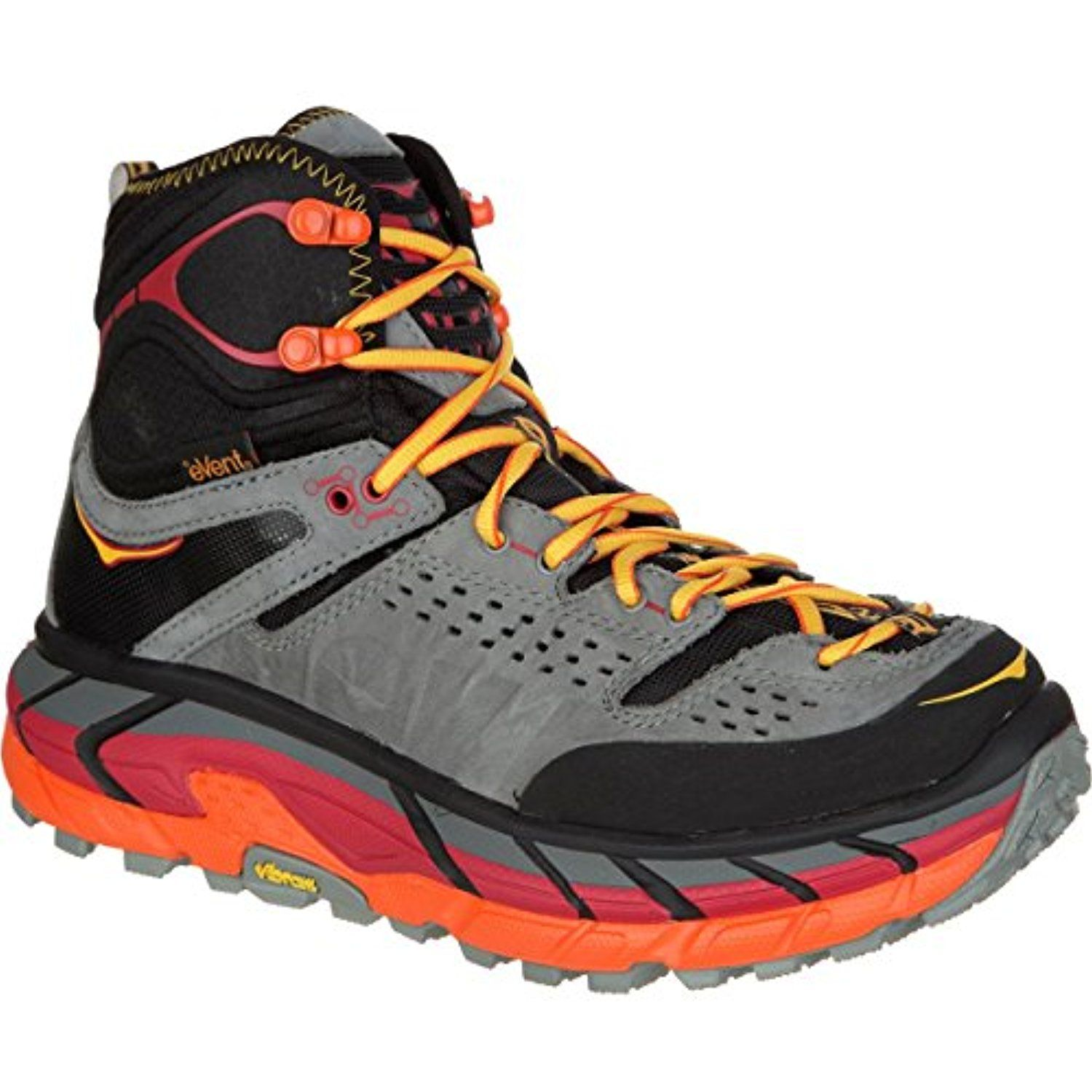 Hoka One One Tor Ultra Hi WP Hiking Boot Womens BlackFlame 95 * You can  find out more details at the link of the image.