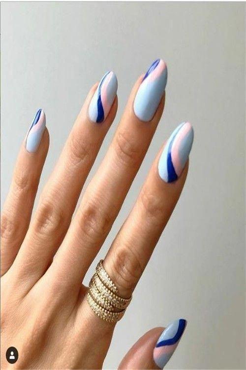 40+ Glamorous Pastel Nail Art Ideas Trends - Fashonails