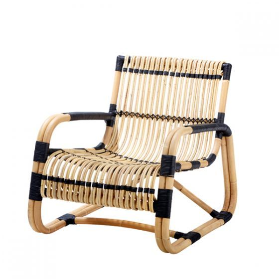 Curve Lounge Chair Indoor Cane Line At Spence Lyda Chair