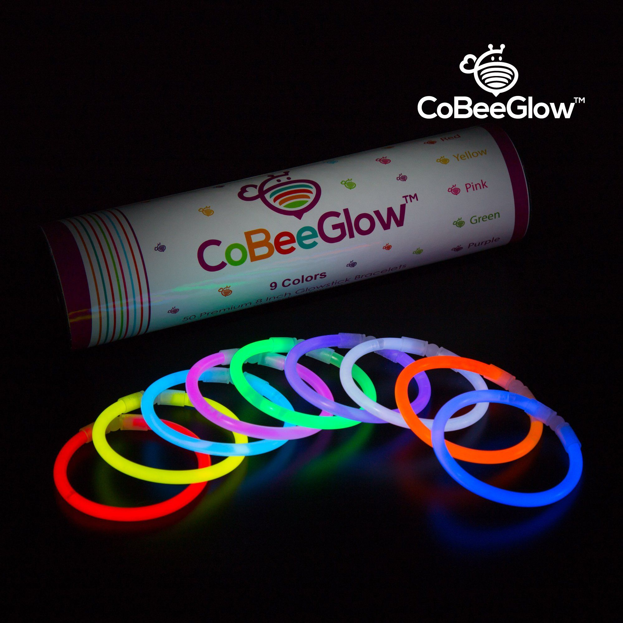 67 Connectors for Glow Necklace 250 Glow Sticks Triple Butterfly Bracelets and Luminous Glasses Bulk Pack of 567 Glowing Sticks 250 Connectors Party Favors for Kids//Adults Flower Balls