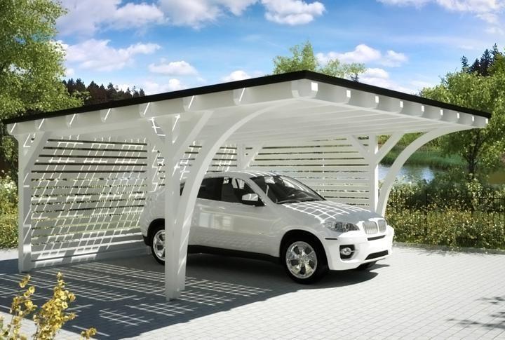 Erleben Sie Unsere Solar Carports Und Solar Terrains In Bildern Schau Mal Home Garages Work Ben Carport Designs Garage Door Design Pergola Carport
