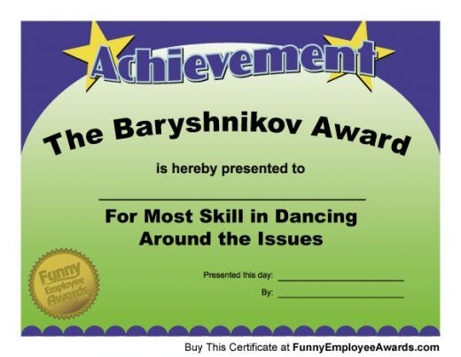 End of the year gag awards for teachers google search office funny teacher awards and certificates for end of the year school awards ceremonies this list of funny certificates is humorous fun and provides great yelopaper Choice Image