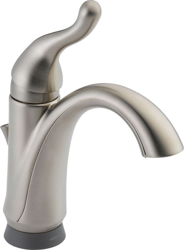 Delta 15960Tdst Talbott Single Hole Bathroom Faucet With Onoff Simple Delta Single Hole Bathroom Faucet Decorating Design